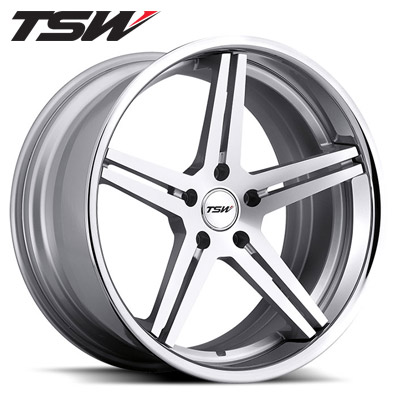 TSW Mirabeau 2pc Silver w/Chrome SS Lip