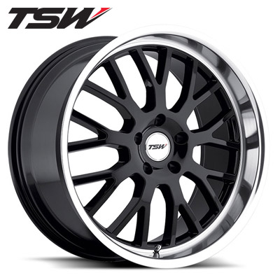 TSW Tremblant Gloss Blk w/Machined Lip