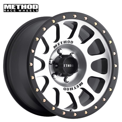 Method Race MR305 NV Machined w/Black Lip Edge