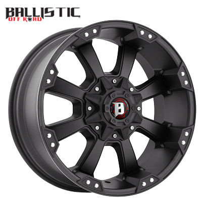 Ballistic Off Road 845 Morax Flat Black