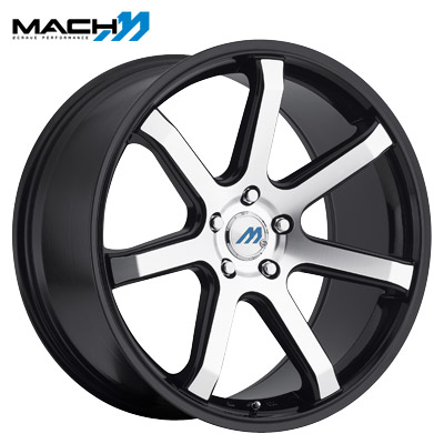 Mach Mach 07 Machined Gloss Black