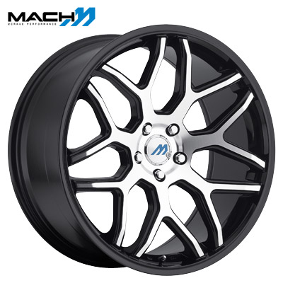Mach Mach 08 Machined Gloss Black