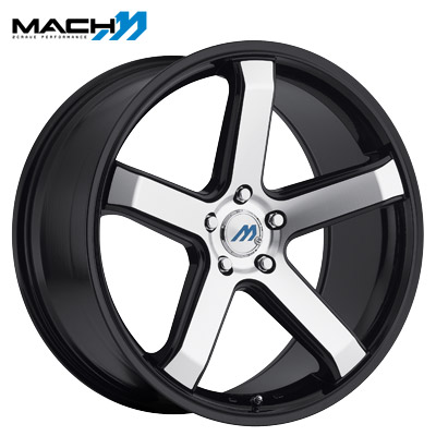 Mach Mach 05 Machined Gloss Black