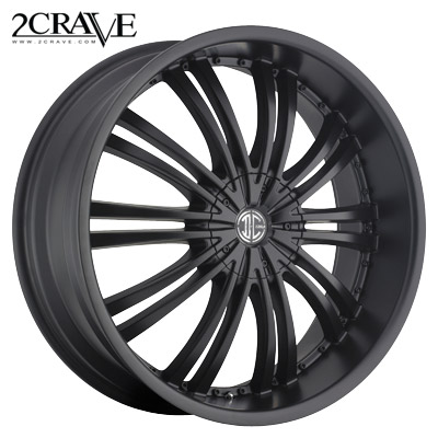 2 Crave No.01 Satin Blk