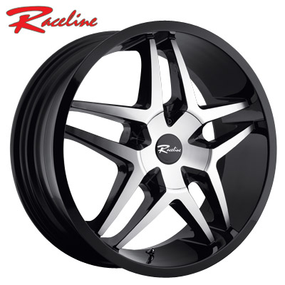 Raceline 194M Montage Machined Blk