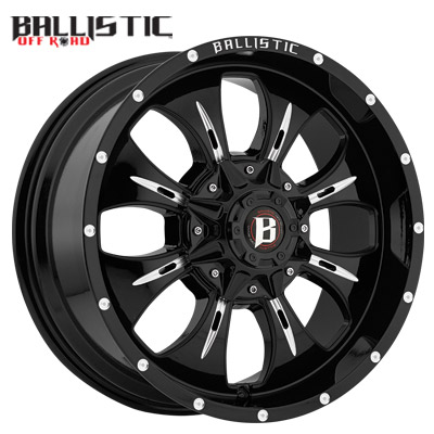Ballistic Off Road 951 Dagger Gloss Black Milled