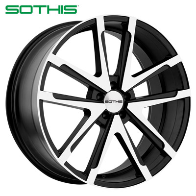 Sothis SC001 Gloss Blk Machined