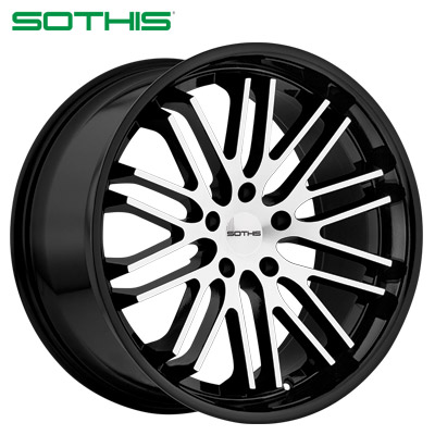 Sothis SC003 Machined Gloss Blk