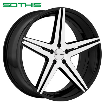 Sothis SC004 Machined Gloss Blk