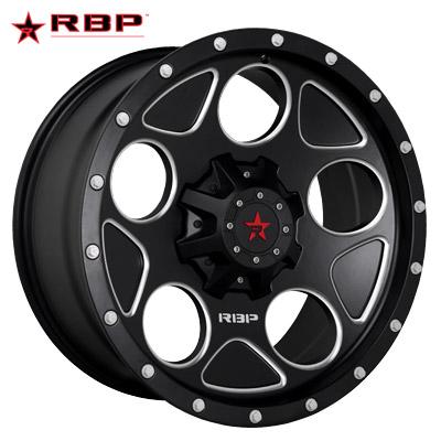 RBP RBP 85R Voltage Satin Black Machined