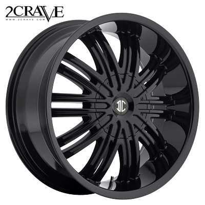 2 Crave No.07 Gloss Black