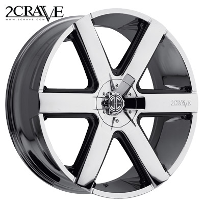 2 Crave No.31 Chrome w/Black Insert