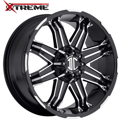 Xtreme NX-07 Gloss Black Machined