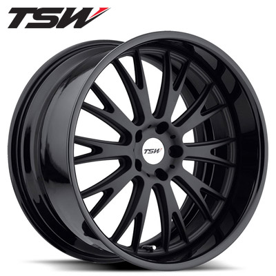 TSW Monaco 2pc Matte Blk/Gloss Blk Lip