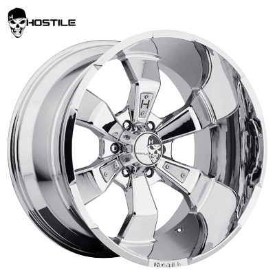 Hostile H103 Hammered 6 Chrome