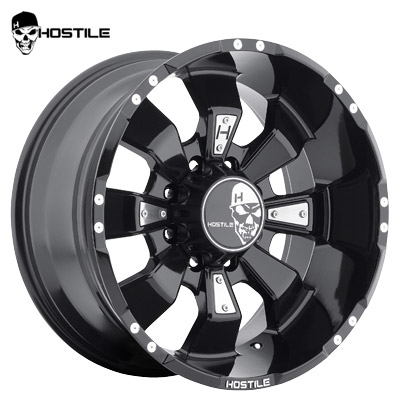 Hostile H103 Hammered 8 Asphalt