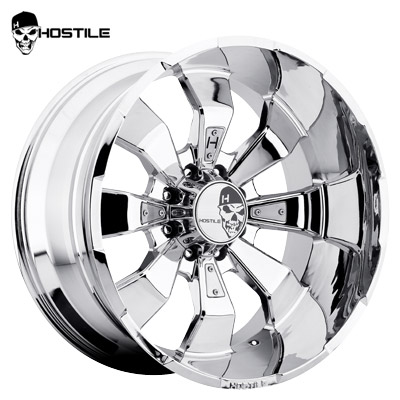 Hostile H103 Hammered 8 Chrome