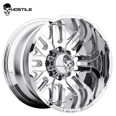 Hostile H104 Zombie 8 Chrome