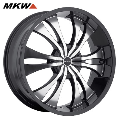 MKW M114 Gloss Blk/Machined