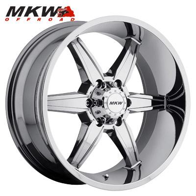 MKW Offroad M89 Chrome 6 Lug