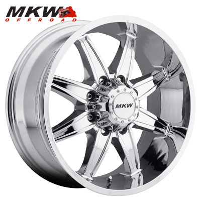 MKW Offroad M89 Chrome 8 Lug