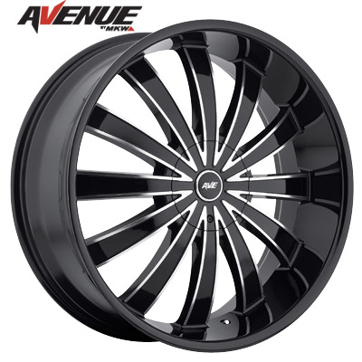 Avenue A610 Gloss Blk/Machined