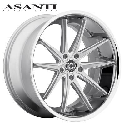 Asanti Black Label ABL-5 Brushed w/SS Lip