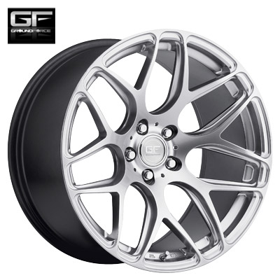 Ground Force GF9 Machined Silver