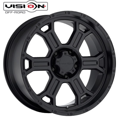 Vision Off Road 372 Raptor Matte Blk