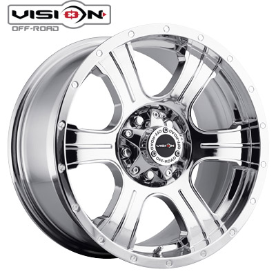 Vision Off Road 396 Assasin Phantom Chrome 5