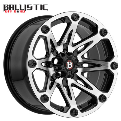 Ballistic Off Road 814 Jester Machined w/Flat Black