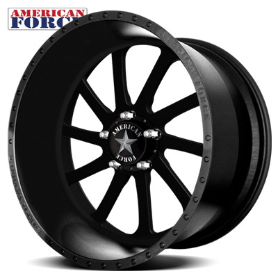 American Force SS5 Burnout Black