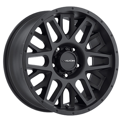 Vision Off Road 388 Shadow Satin Black