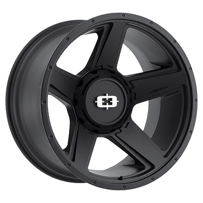 Vision Off Road 390 Empire Satin Black