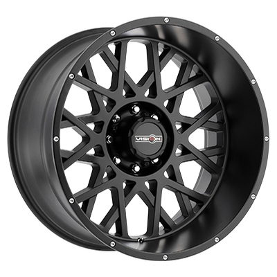 Vision Off Road 412 Rocker Satin Black