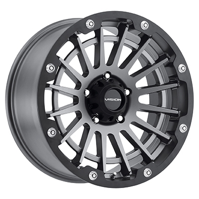 Vision Off Road 417 Creep Satin Grey