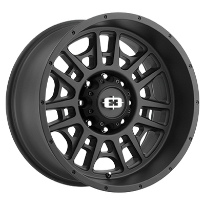 Vision Off Road 418 Widow Matte Black