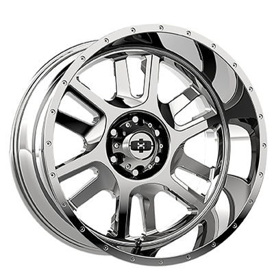 Vision Off Road 419 Split Chrome
