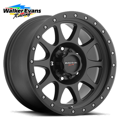 Walker Evans Racing 504 Legacy 5 Satin Blk w/Satin Black X-Lok Lip