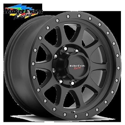 Walker Evans Racing 504 Legacy 8 Satin Blk w/Satin Black X-Lok Lip