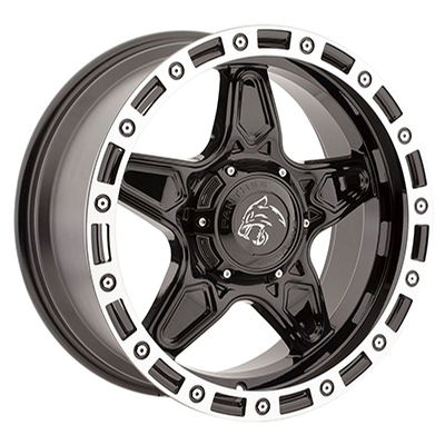 Panther OffRoad 576 Gloss Black Machined