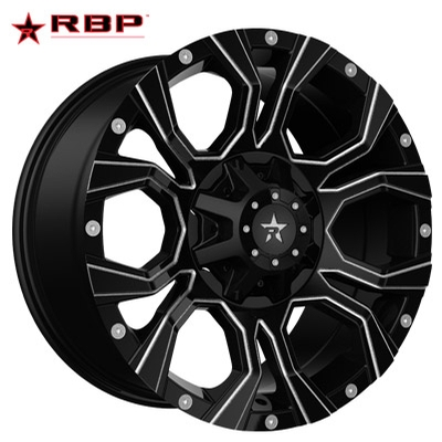 RBP RBP 64R Widow Gloss Black Milled