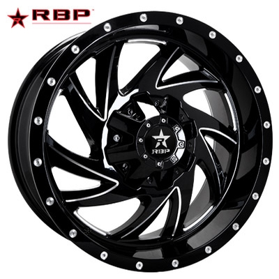 RBP RBP 66R HK-5 Gloss Black Milled
