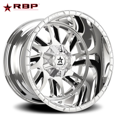 RBP RBP 69R Swat Chrome w/Black Accents