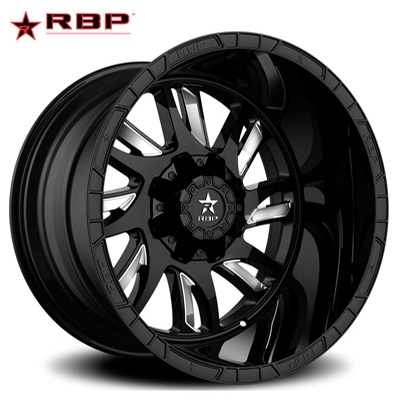 RBP RBP 69R Swat Gloss Black w/Chrome Accents