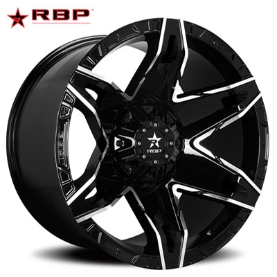 RBP RBP 70R Quantum Gloss Black w/Machined