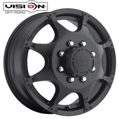 Vision Off Road 715 Crazy 8 Dually Front Matte Blk