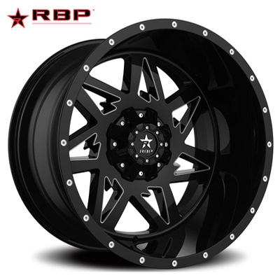 RBP RBP 71R Avenger Gloss Black Machined Accents