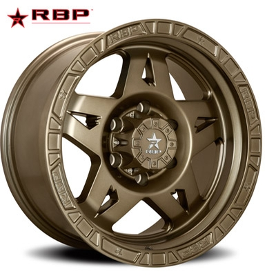 RBP RBP 72R Caliber-5 Satin Bronze