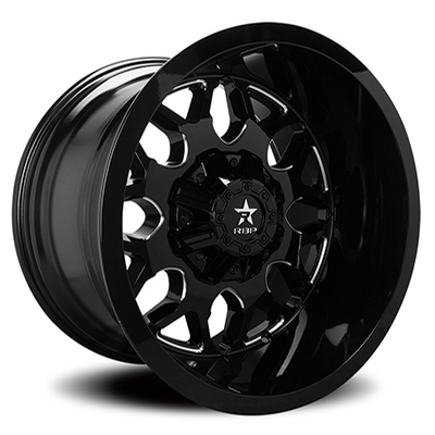RBP RBP 73R Atomic Gloss Black Milled